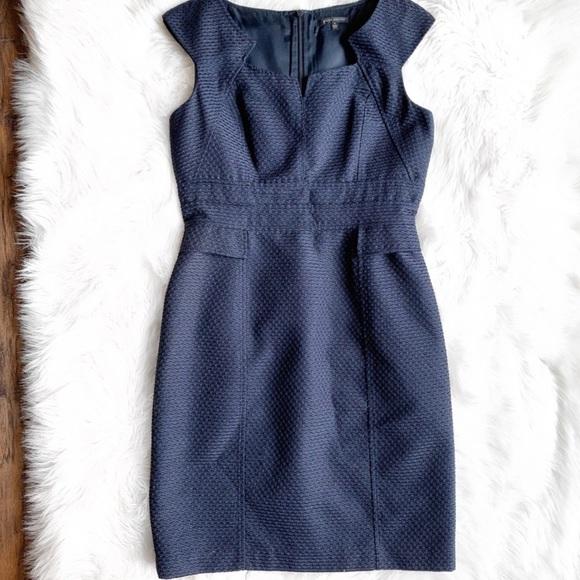 David Meister Dresses & Skirts - David Meister Navy Sheath Dress J0778